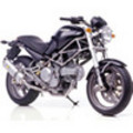 Thumbnail Ducati Monster 620 Dark ie Parts List Catalog Manual 2003