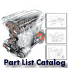 Thumbnail Ducati Monster 600 Metallic Part List Catalog Manual 2001