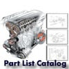 Thumbnail Ducati Monster 600 M600 Part List Catalog Manual 2001